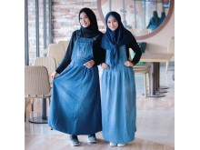 Jumpsuit Dress Jeans Basic Seri 2 Warna #956